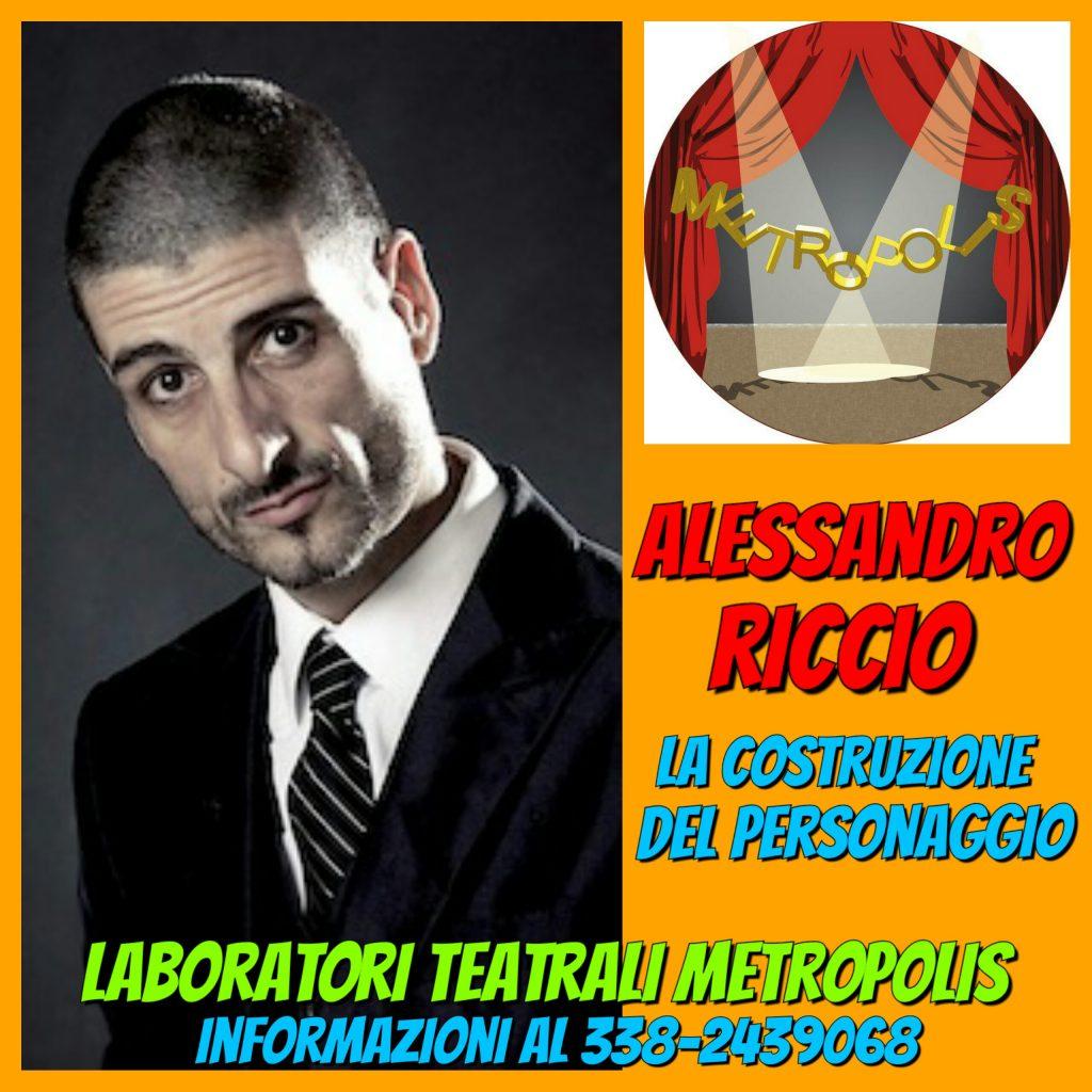 CREAZIONE DEL PERSONAGGIO - corso teatrale di Alessandro Riccio